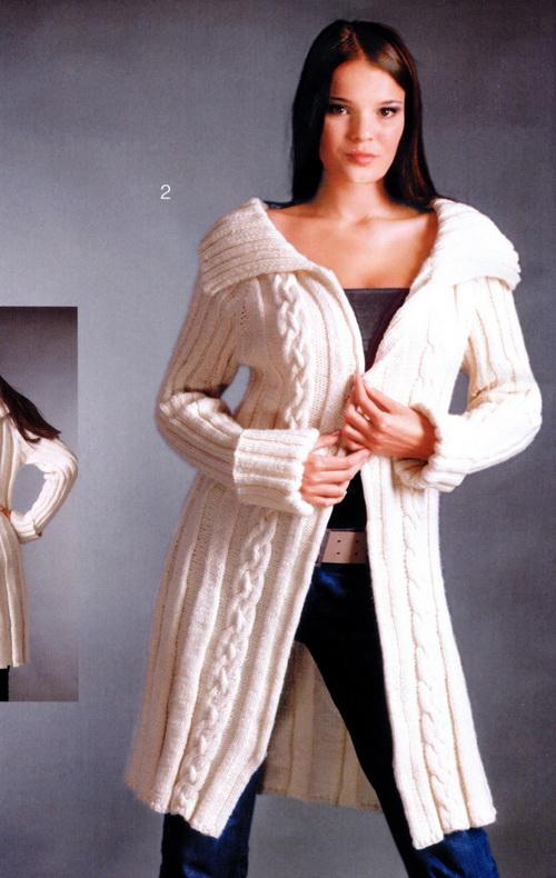 Вязание пальто жакеты.